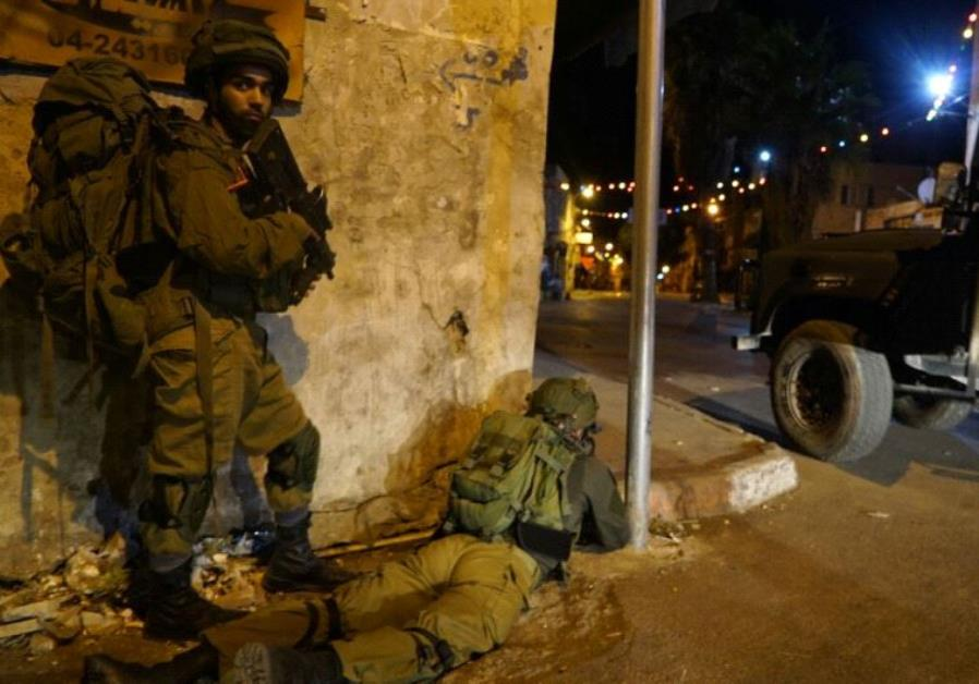 IDF confiscates weapons in West Bank