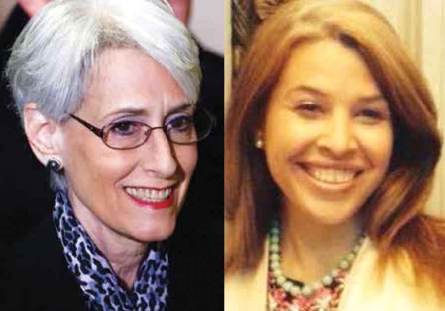 Wendy Sherman and Sarah Bard