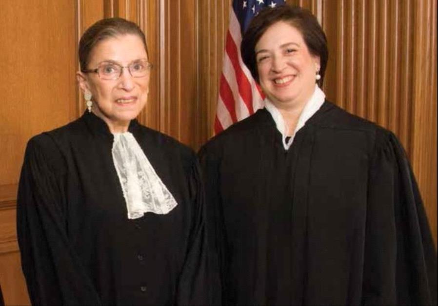 Ruth Bader Ginsburg and Elena Kagan