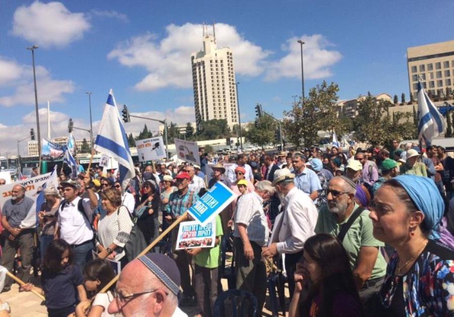 Demonstration Amona