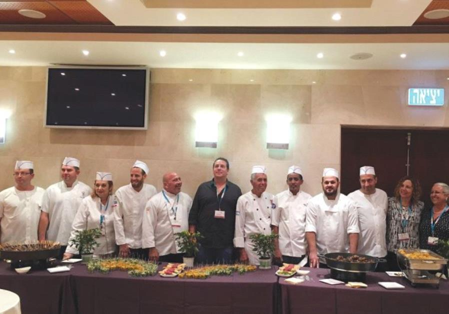 MEDICAL CENTER food service staff attend the forum in Haifa on Monday.