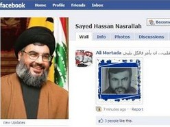 Social media users successfully face down Nasrallah on Facebook