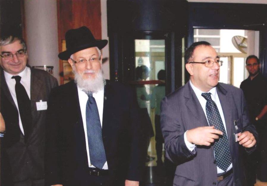 Lors des 25 ans de l'AJECLAP, avec Bernard Kassel (à gauche) et Félix Perez