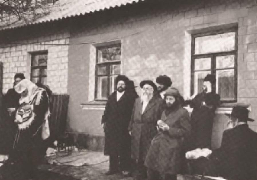 Les abords de la tombe de Rabbi Nahman dans les années 1970