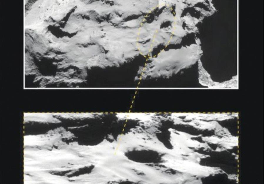 THE ROSETTA spacecraft will be crashed into the Churyumov-Gerasimenko comet by scientists from Tel A