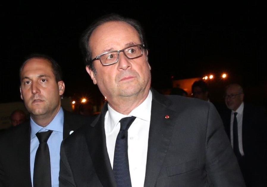 President of France Francois Hollande