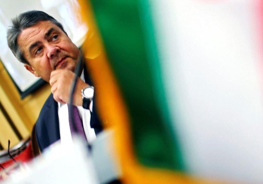 German Economy Minister Sigmar Gabriel attends a conference in Tehran, Iran October 3, 2016.