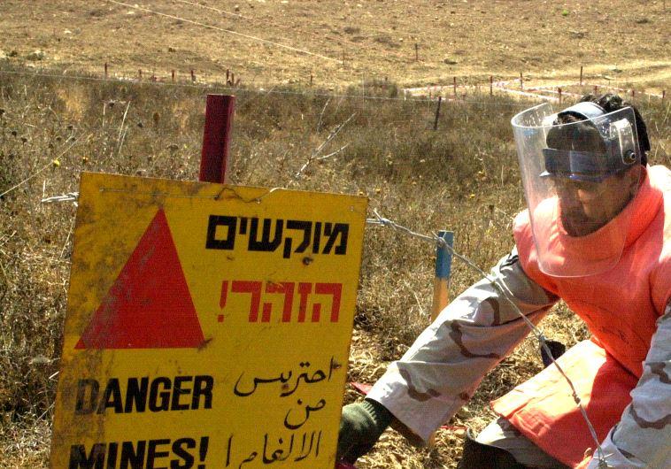 land mines