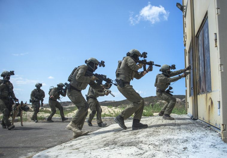 IDF elite unit training day