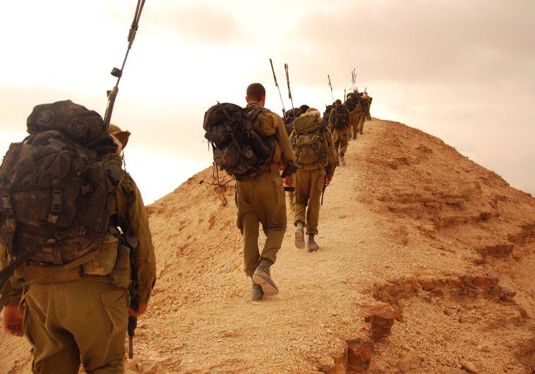 IDF elite unit training day