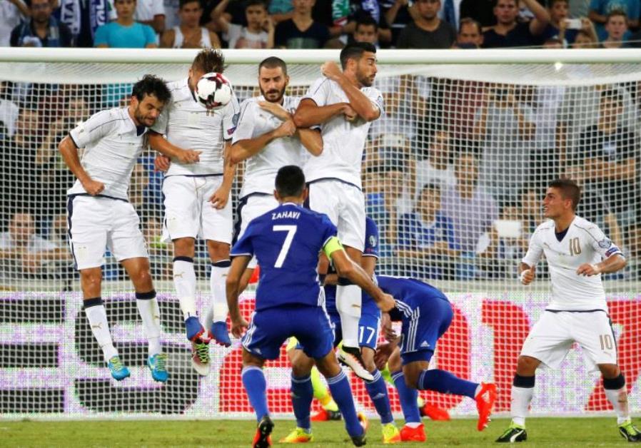 israel italy soccer