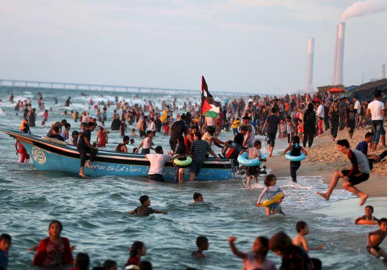 Gaza beach