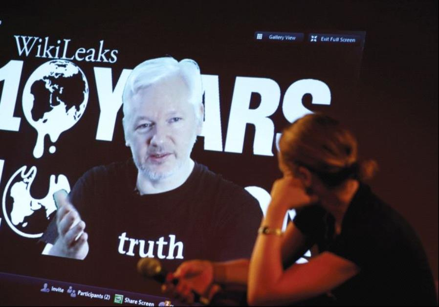 Wikileaks founder 10th anniversary