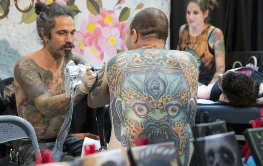 Third Annual Tel Aviv Tattoo Convention / JACK GUEZ / AFP