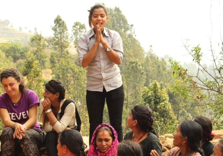 Israeli volunteers Nepal