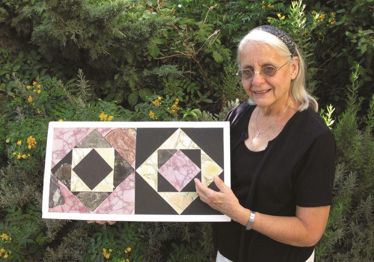 Frankie Snyder, la femme qui recolle les dalles du Second Temple