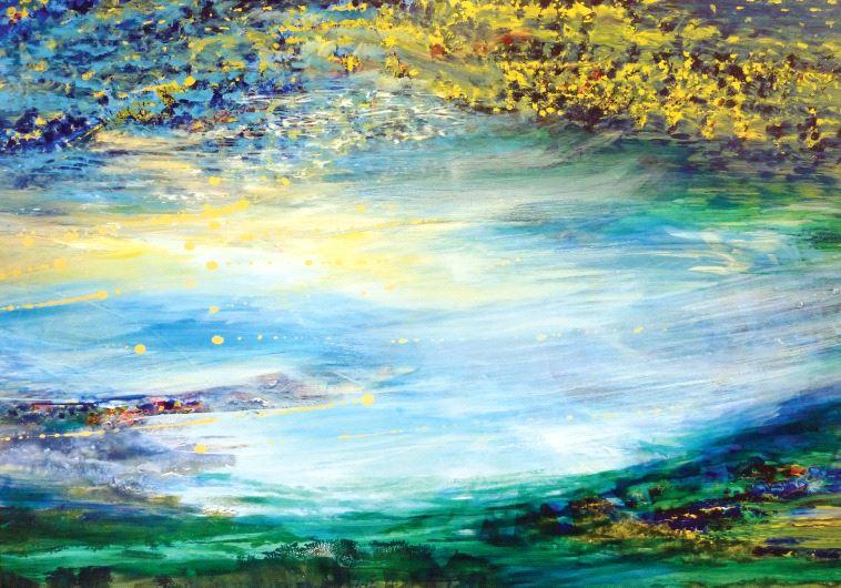 Painting by Meira Raanan