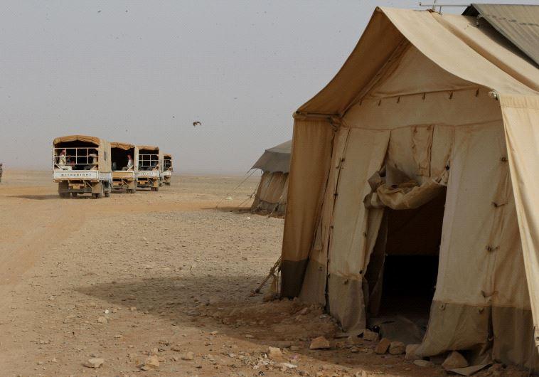 Rakban refugee camp