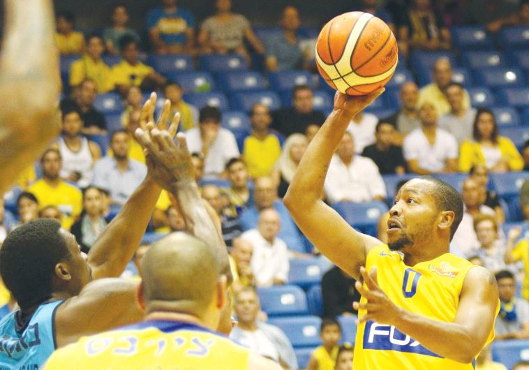 Maccabi Tel Aviv guard Andrew Goudelock scored a game-high 22 points in last night's 95-77 win over
