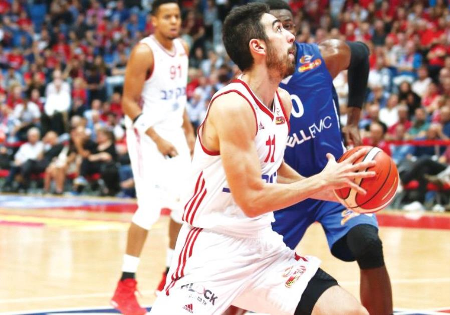Hapoel Jerusalem guard Bar Timor aims to build on his impressive play in BSL action when the team vi