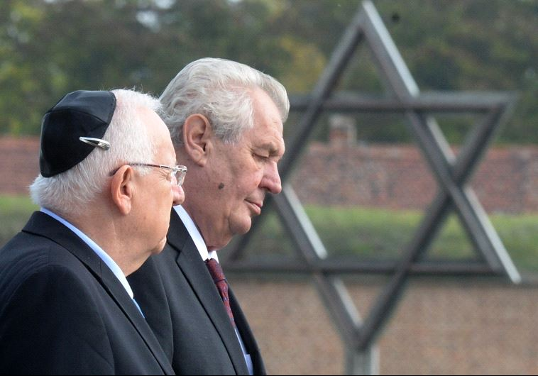 Rivlin Czech Holocaust