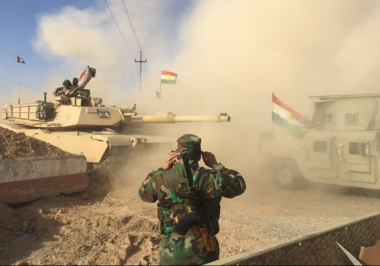Kurdish Peshmerga forces.