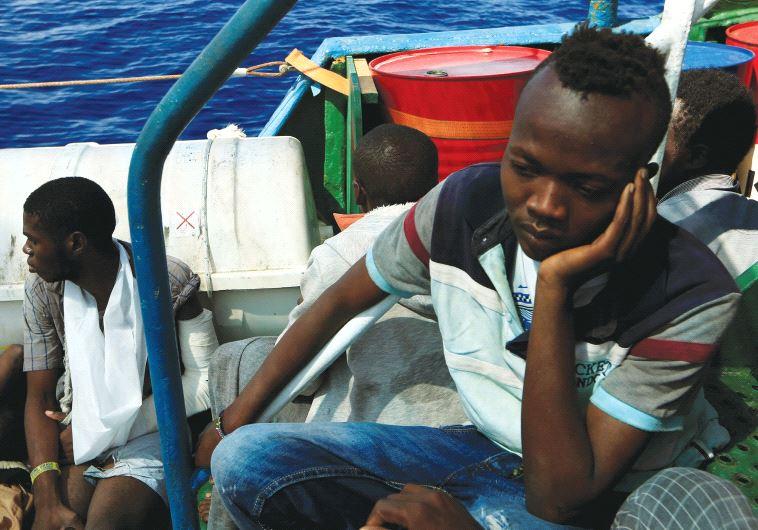 Refugee vessel Darfur