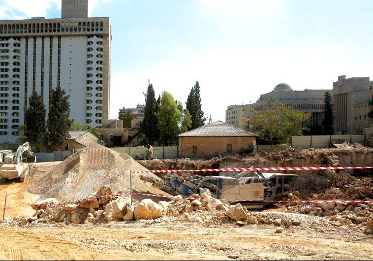 Jerusalem buildings