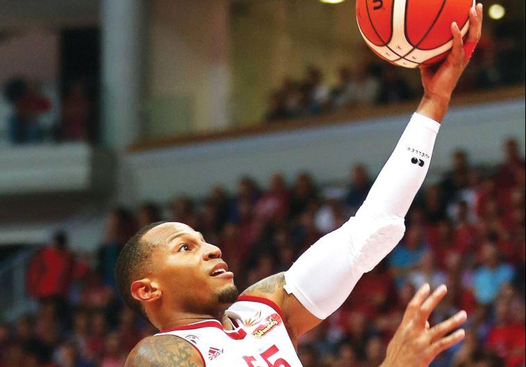 Hapoel Jerusalem guard Curtis Jerrells scored 22 points in last night's 89-74 win at Olimpija Ljublj