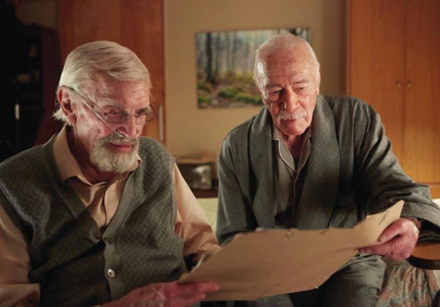 MARTIN LANDAU (left) and Christopher Plummer in 'Remember.'