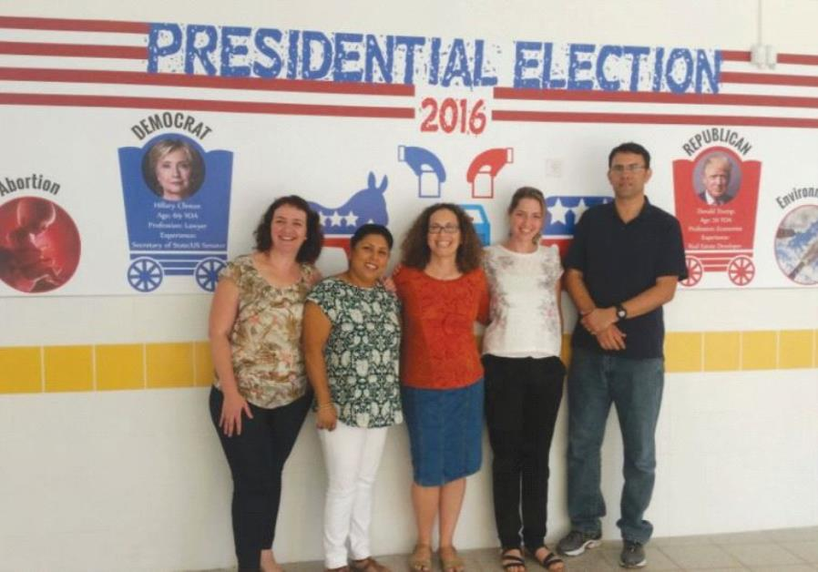 US elections Israel