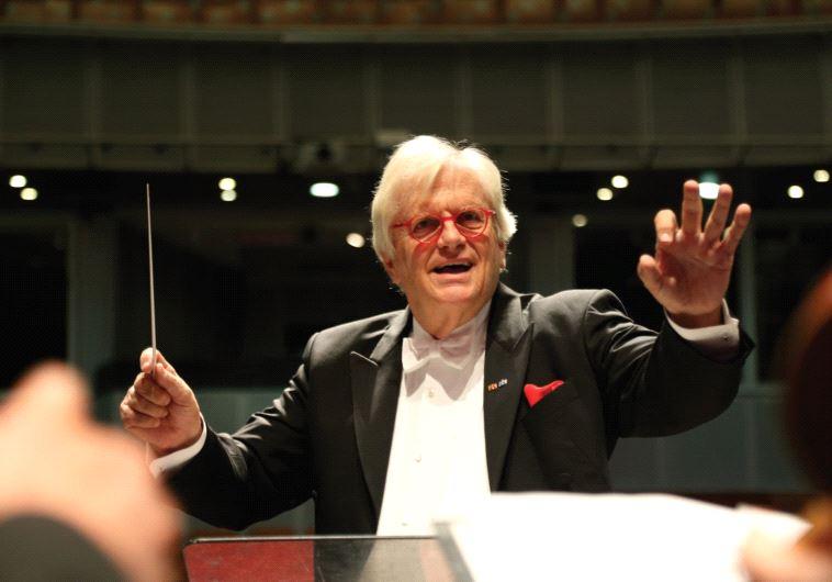 GERMAN PIANIST and conductor Justus Frantz.