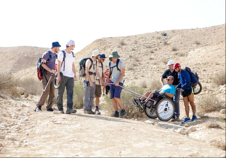 OneFamily's annual CrossIsrael hike