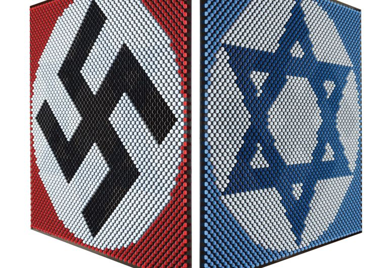 Swastika and Star of David