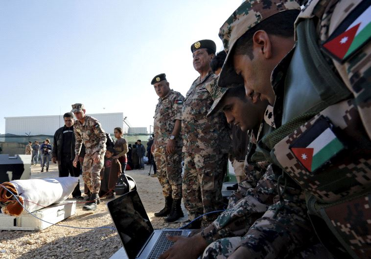 jordanian soldiers