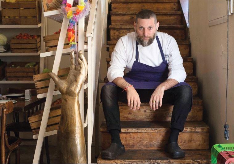 COOKING CLASS: Chef Assaf Granit of Jerusalem's famed Machneyuda restaurant.