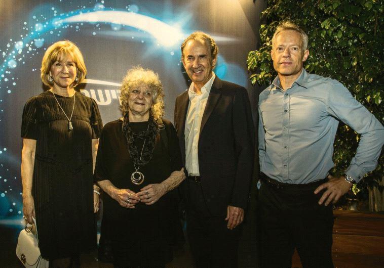 Heather Reisman, Ada Yonath, Gerry Schwartz and Aviv Bushinsky.