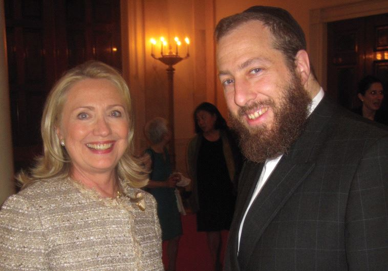 EZRA FRIEDLANDER, CEO of the public affairs consulting firm The Friedlander Group, seen here with Hi