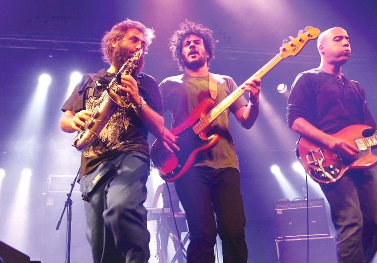 MEMBERS OF Balkan Beat Box perform at Hangar 11 as part of last year's Tune In Tel Aviv.