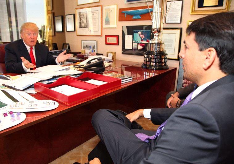 President-elect Donald Trump and Ambassador Danny Danon