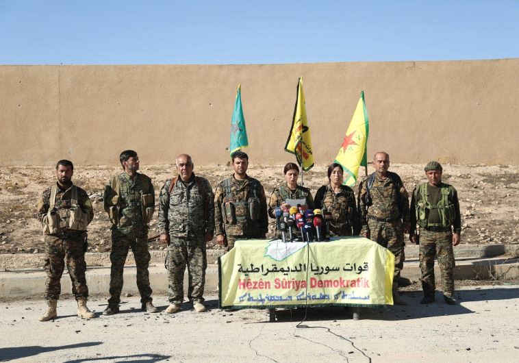 SYRIAN DEMOCRATIC FORCES commanders announce an offensive to take the ISIS-held city of Raqqa last w
