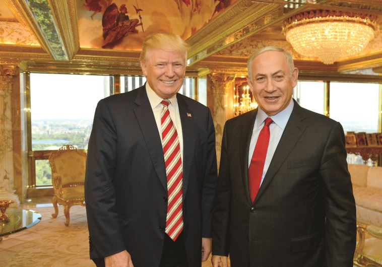 Rencontre entre Benjamin Netanyahou et le candidat à la présidence Donald Trump en septembre