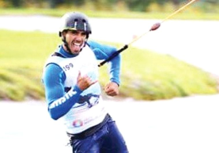 ISRAELI WAKEBOARDER Lior Sofer was triumphant over the weekend as the gold medals at the world champ