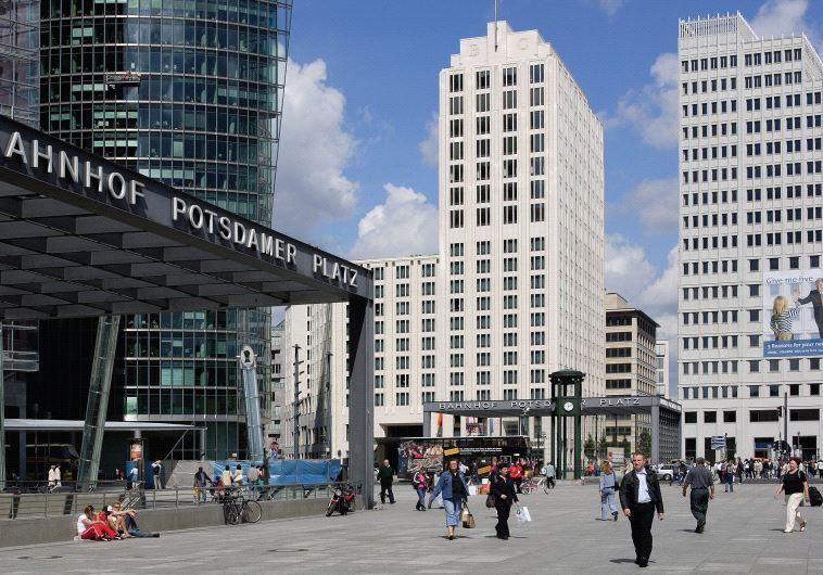 Berlin's Potsdamer Platz
