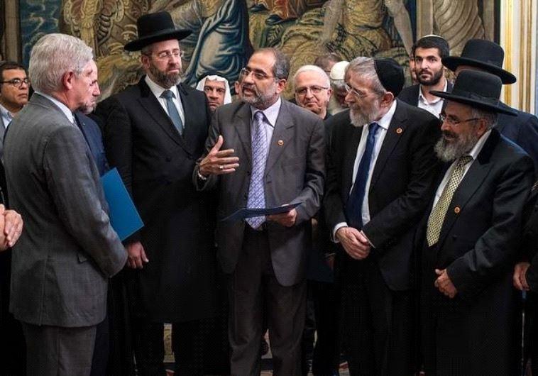 Chief Rabbi, head of southern Islamic Movement, senior Palestinian clerics, in 'historic' call for e