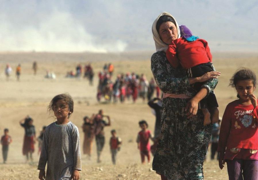 La minorité yazidie, victime des exactions de l'Etat islamique