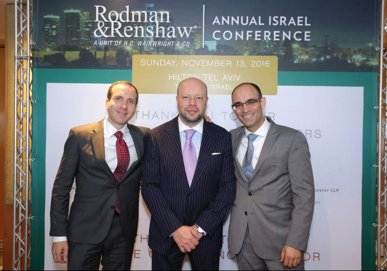 FROM LEFT, Noam Rubinstein, Michael Vasinkevich and Oded Spindel.