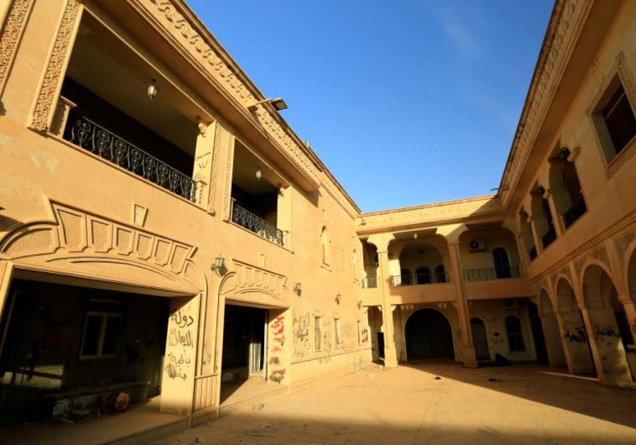 The Mar Behnam Christian monastery near Mosul, Iraq.