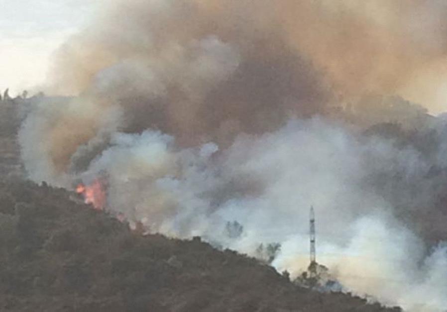 Fire in Zichron Yaakov 22/11/1016