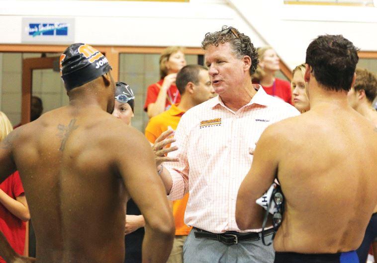 American coach David Marsh (center)